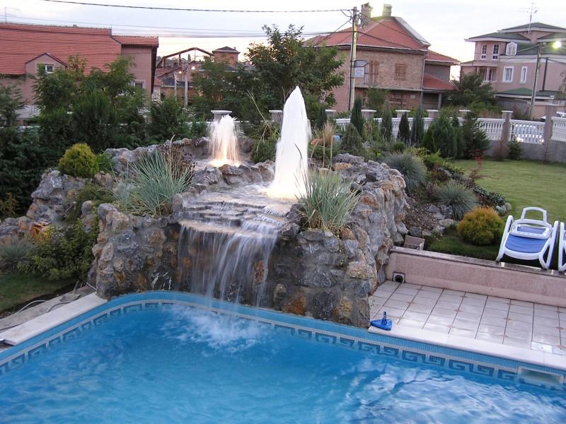 Aqua Mramor - Bazen sa fontanom