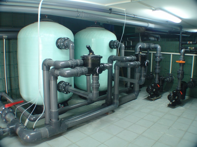 Aqua mramor - Bazensko postrojenje