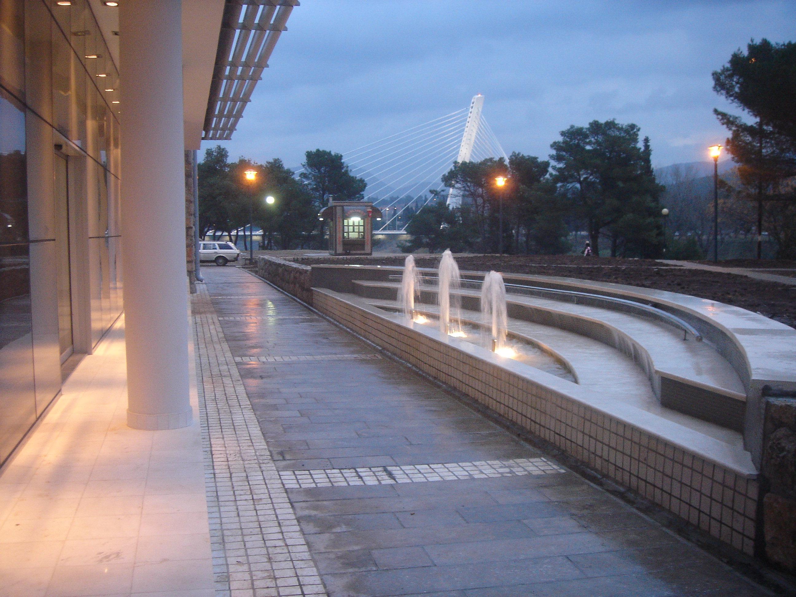 Aqua Mramor - Fontana u Podgorici