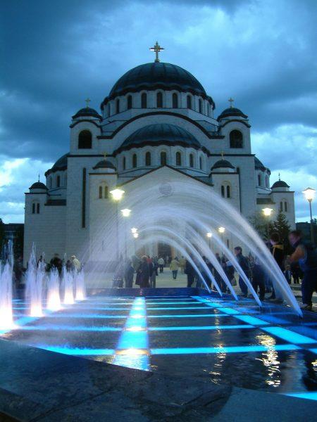 Aqua Mramor - Hram svetog Save
