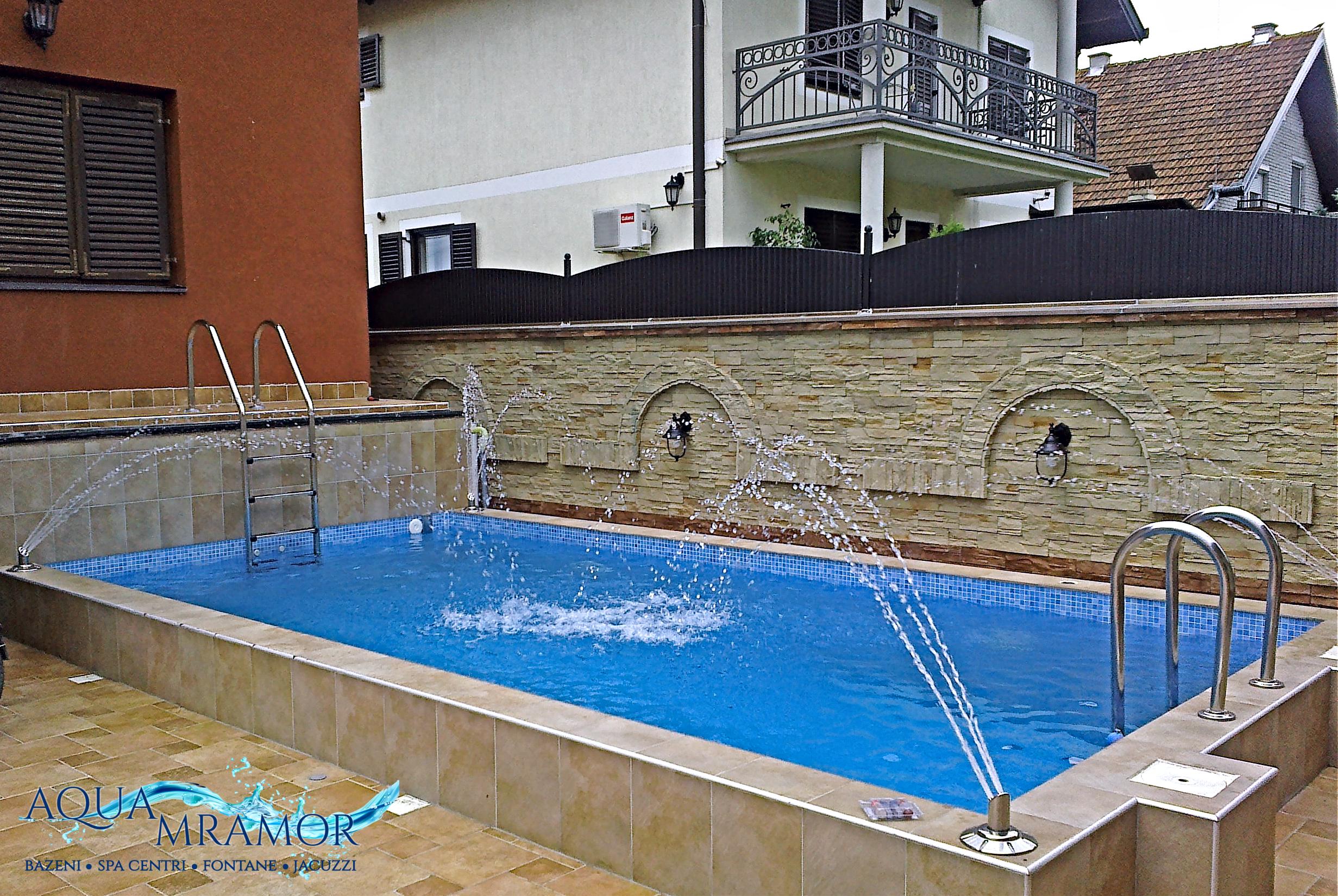Aqua ramor - Bazen u privatnoj kući