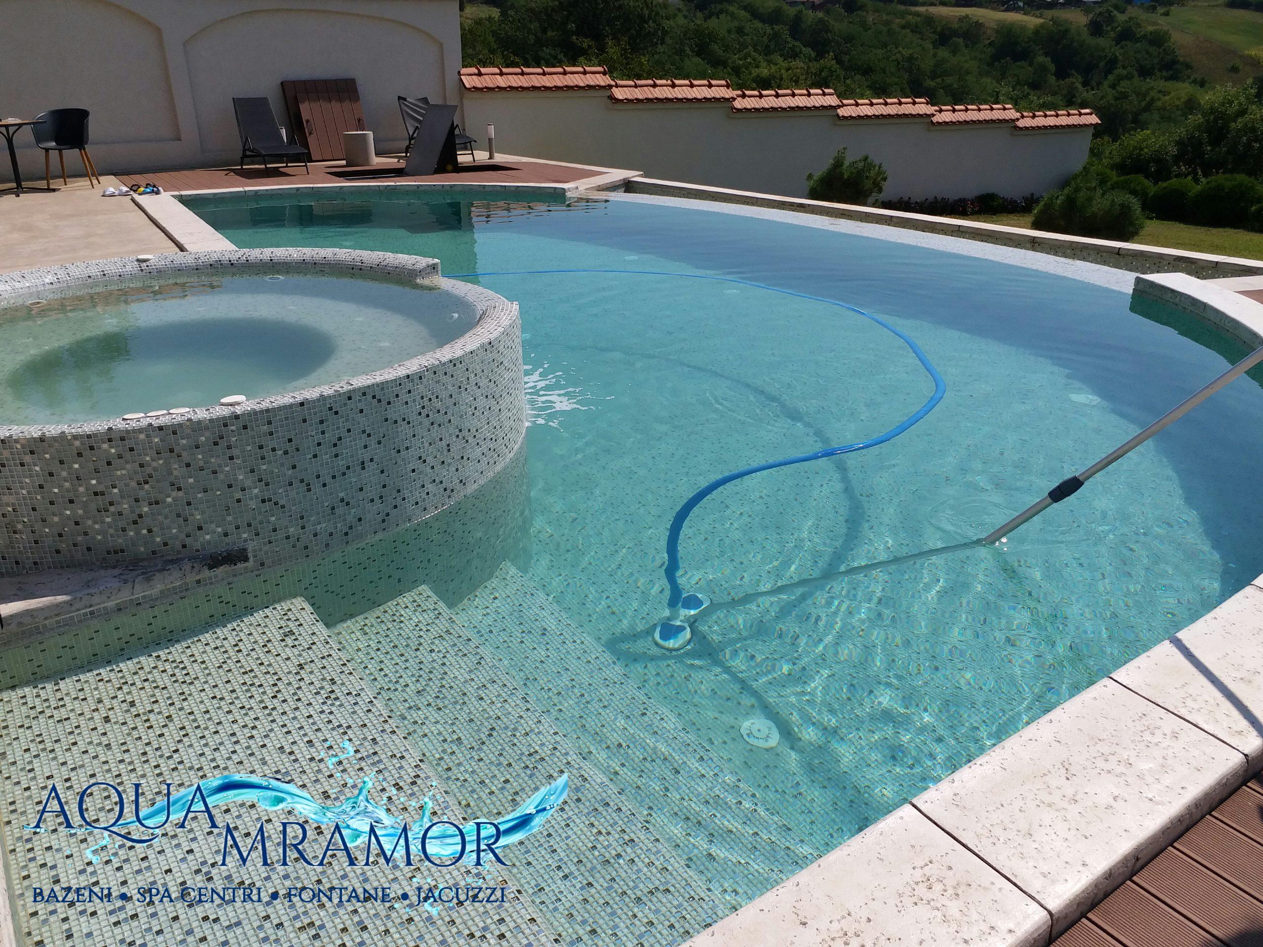 Aqua Mramor - Usisavanje bazena